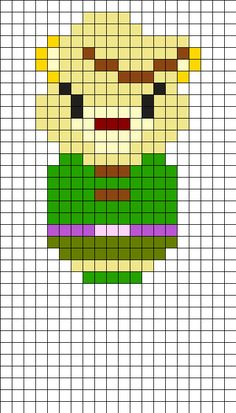 Sunni Gummi - Disney's Adventures of the Gummi Bears Perler Bead Pattern