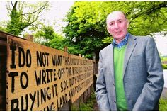 Otford couple denied consent to build react with angry sign