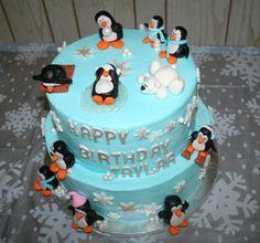 first.birthday snowflake theme | Winter ONEderland First Birthday Cake