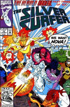 Silver Surfer Sept.1992 #72