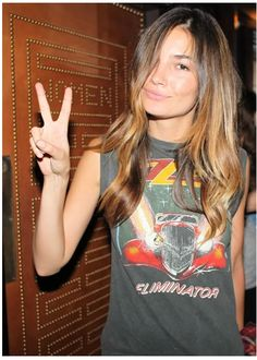 ZZ Top Graphic Tee - Peace, Love and Ombré - Fashion Industry Network