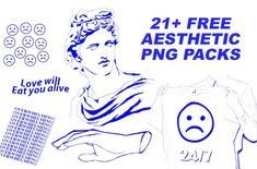 Free Aesthetic PNG Packs