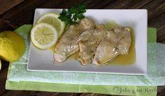 Pechugas de pollo en salsa de limón | Comparterecetas.com