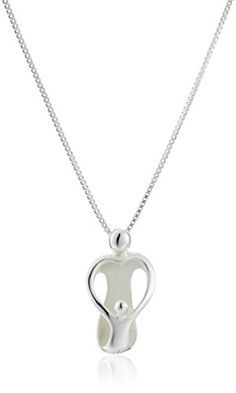 Sterling Silver Loving Family Mother with One Child Pendant Necklace 18 >>> Check this awesome product by going to the link at the image.Note:It is affiliate link to Amazon.