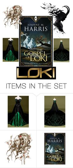 """""""The Gospel of Loki"""" by jinxr2m ❤ liked on Polyvore featuring art"""