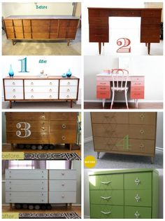 DIY Painted Furniture Inspiration