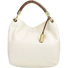 MICHAEL KORS Large leather bag ($675) ❤ liked on Polyvore
