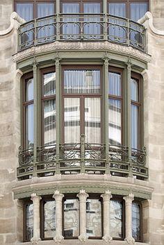 Victor Horta Hotel Tassel   Hôtel Tassel par Victor Horta, n°6 rue Paul-Émile Janson ...