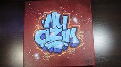 For MY ÇİZİM canvas graffiti tablo ! 2017