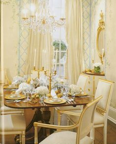 What a pretty room - simple but so elegant