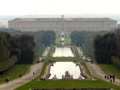 Caserta Palace (Reggia di Caserta) is a large 18th centrury palazzo situated in the Italian town of Caserta, the successor of the ancient and medieval Capua.