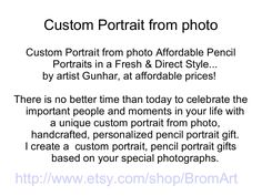 customportraitfromphoto by fastpaydayloans via Slideshare Personalized Pencils, Portraits From Photos, Important People, Pencil Portrait, Free Gifts, Fails, In This Moment, Celebrities, Artist
