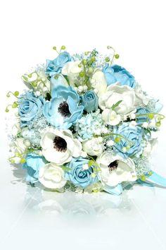 2015 Wedding Colour Trend: Tiffany Blue #wedding #flowers #tiffny #blue