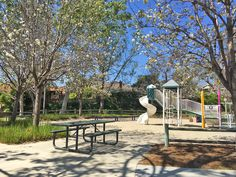 Valyermo Park in Mission Viejo. Smaller park but super nice. Charming!