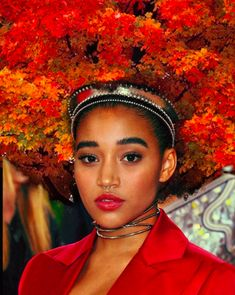 You Have To See This Otherwordly Afro Photo Series #refinery29  http://www.refinery29.com/2016/05/110769/afro-hair-artwork-pierre-jean-louis#slide-5  Amandla Stenberg's hair creation has us wanting to fast-forward through summer, straight to fall (well, kind of). ...