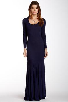 American Twist | Drop Waist Maxi Dress | HauteLook