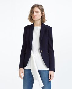 Image 1 of JACKET WITH BUTTON from Zara