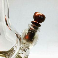// METALFORMS-Bong-Head in copper-orange // €27,90 available on metalforms.at/shop #weed #cannabis #420 #marihuana #marijuana #bong #stoner