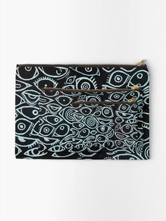 Pale Blue Eyes, Spooky Eyes, Zipper Pouch, Makeup Yourself, Baby Blue, Are You The One, Metal, Prints, Metals