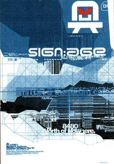 The Designers Republic / Sign:Age 1996
