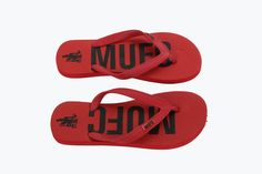 Manchester United MUFC Red Flip-Flop