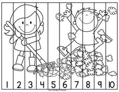 Thanksgiving Centers For Kindergarten Math Amp Literacy Kindergarten Literacy, Teaching Math, Preschool Activities, Autumn Activities, Learning Activities, Kids Learning, Counting Puzzles, Number Puzzles, Math Numbers