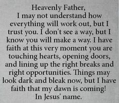 This is an awesome prayer.