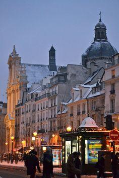 Paris in winter (by Happy Interior Blog)