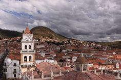 Sucre, the old colonial capital of Bolivia, is a UNESCO world heritage site on account of all that lovely colonial architecture