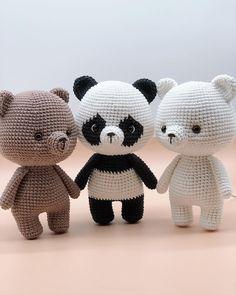Crochet Animal Amigurumi, Crochet Bunny, Cute Crochet, Crochet Animals, Crochet Crafts, Crochet Dolls, Crochet Projects, Crochet Applique Patterns Free, Animal Knitting Patterns