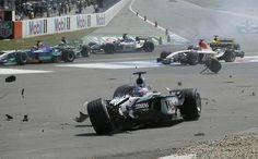 2003 Formula 1 German Grand Prix - Kimi Raikkonen (McLaren)