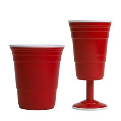 keeping it classy in the red cup. #winecup #drinkingcup #red #americanicon #frathouse