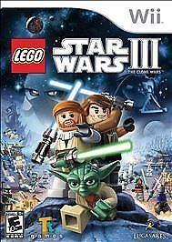 LEGO Star Wars III: The Clone Wars (Nintendo Wii, 2013)