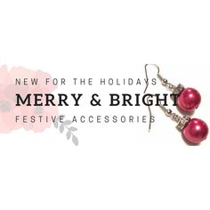 Looking for a last minute gift? Stocking stuffer? Accessory for your holiday outfit? I have added these cute little Christmas Ball earrings to my on-line shop.  Available in 7 different colours and ready to ship!  If you're local we can arrange drop off or pick up; if not use the code FREESHIP to send it your way!  http://ift.tt/1MLV9Y0  #mellabelladesigns #handmadejewelry #christmasjewelry #holidayjewelry