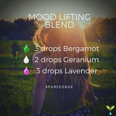 Try this great Mood Lifting Blend to help start your day off right! www.pureeobox.com