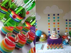 Little Big Company | The Blog: Rainbow Party for a 1st Birthday by Sweet Daisy