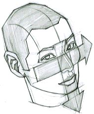 AnatoRef — Let's draw a face in combination techniques Face Anatomy, Anatomy Drawing, Planes Of The Face, Face Angles, Face Structure, Human Drawing, Figure Drawing Reference, Character Design References, Sketch Design