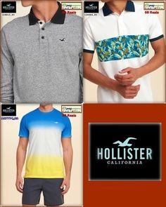 03 Ofertas Hollister, R$ 68,00 Hollister California, Polo Shirt, Polo Ralph Lauren, Mens Tops, Shirts, Fashion, Blouses, Moda, Polos