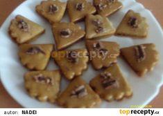 Kávové vějířky s kofilovou nádivkou recept - TopRecepty.cz Czech Recipes, Cookies, Food, Crack Crackers, Biscuits, Cookie Recipes, Meals, Cookie, Biscuit