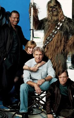Star Wars cast together again...