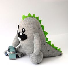 Baby Zilla PDF Pattern, from Etsy seller CraftSchmaft
