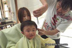 #はじめてのカット #赤ちゃんカット #ヘアーサロンカモシダ Kids Cuts, Face, The Face, Faces, Children Haircuts, Facial