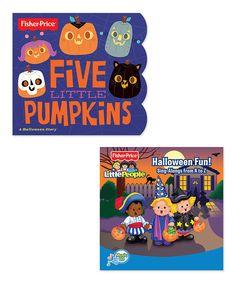 Love this Fisher-Price Five Little Pumpkins Book & Halloween Fun CD by Fisher-Price on #zulily! #zulilyfinds