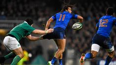 Teddy Thomas Irlande France 2015 6 nations