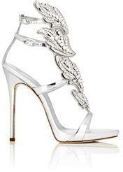 "Giuseppe Zanotti Women's Crystal-Embellished ""Cruel"" Sandals-Colorless"