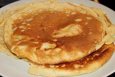 Pfannkuchen mit Mandelmilch