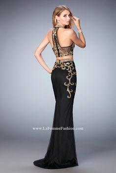 Look red-carpet-ready in Gigi Prom Style 22898 available at WhatchamaCallit Boutique