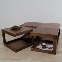 Cube Table, Walnut | ACHICA SAC_GF_003_04