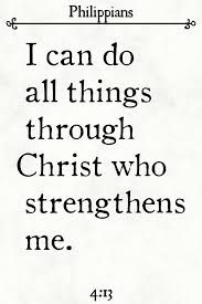 Philippians 4:13 - I can do all things through Him who strengthens me. Give Me Strength, Inner Strength, Bible Quotes, Bible Verses, New American Standard Bible, I Can Do Anything, Philippians 4 13, Phone Quotes