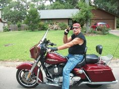 This #biker is laid back type of guy who enjoys a good game of pool or a good ride along a country on his #bike. He loves science fiction, but his favorite movie is The Godfather. Ladies, click his picture to meet him. #bikerplanet #bikerguy